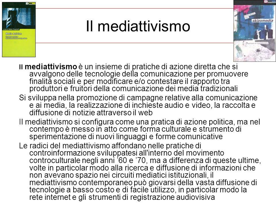 Il mediattivismo