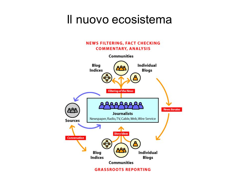 Il nuovo ecosistema