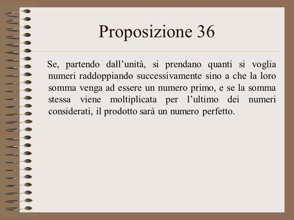 Proposizione 36