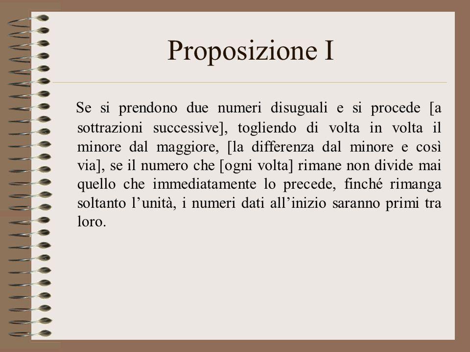 Proposizione I