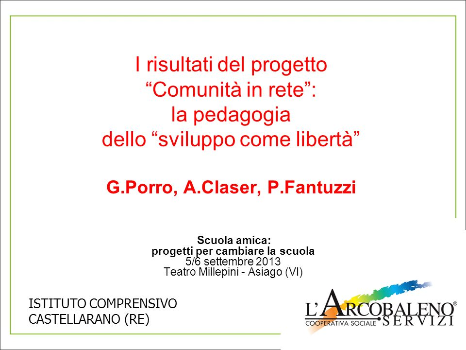G.Porro, A.Claser, P.Fantuzzi