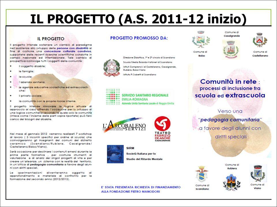 IL PROGETTO (A.S. 2011-12 inizio)