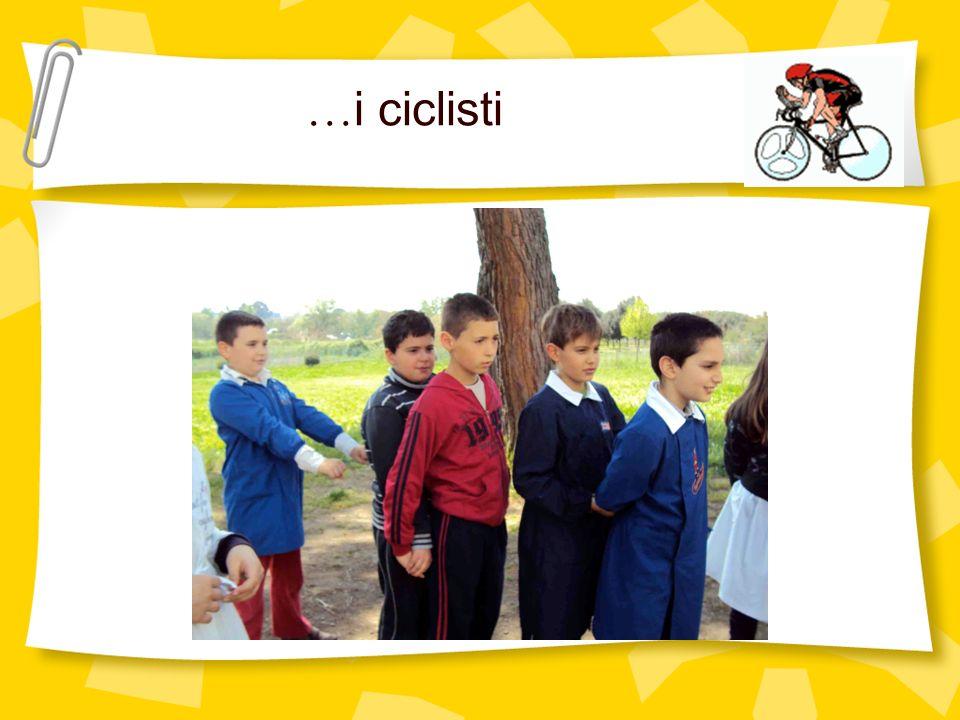 …i ciclisti