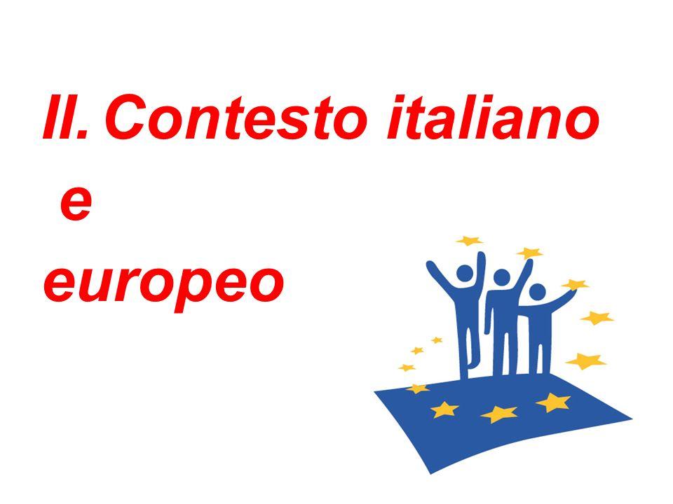 Contesto italiano e europeo