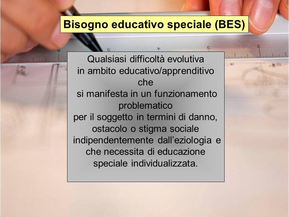 Bisogno educativo speciale (BES)