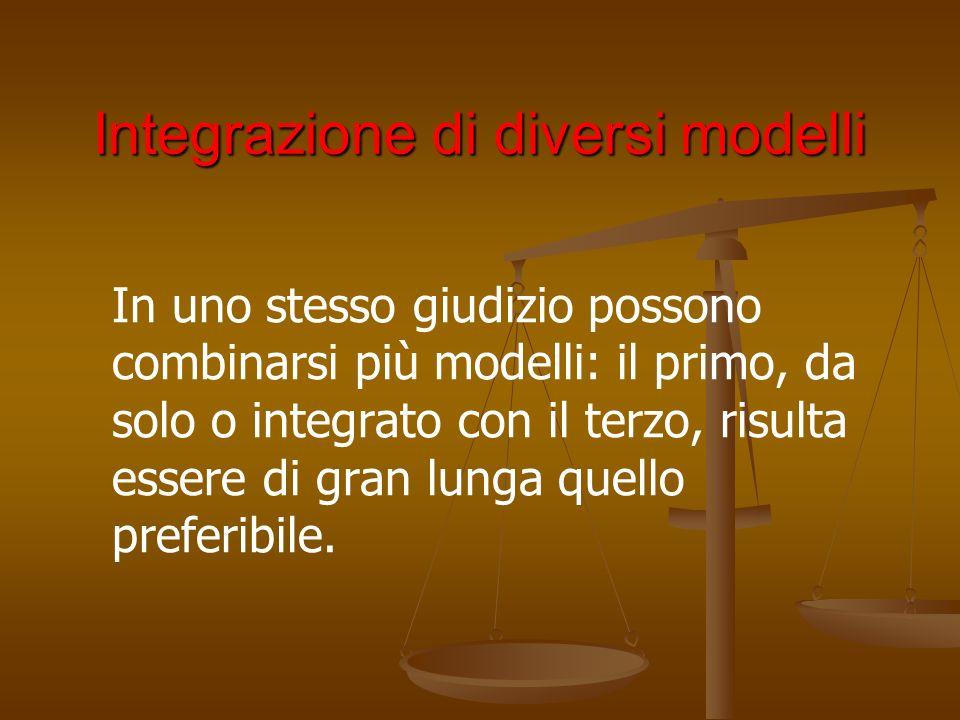 Integrazione di diversi modelli