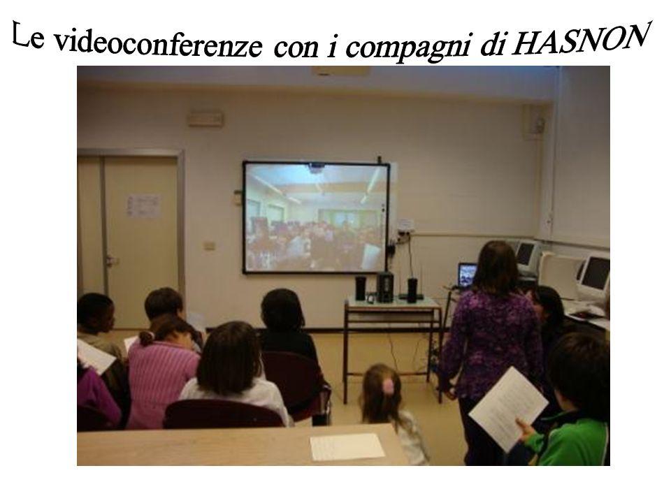 Le videoconferenze con i compagni di HASNON