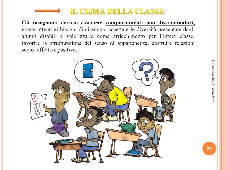 Il clima della classe