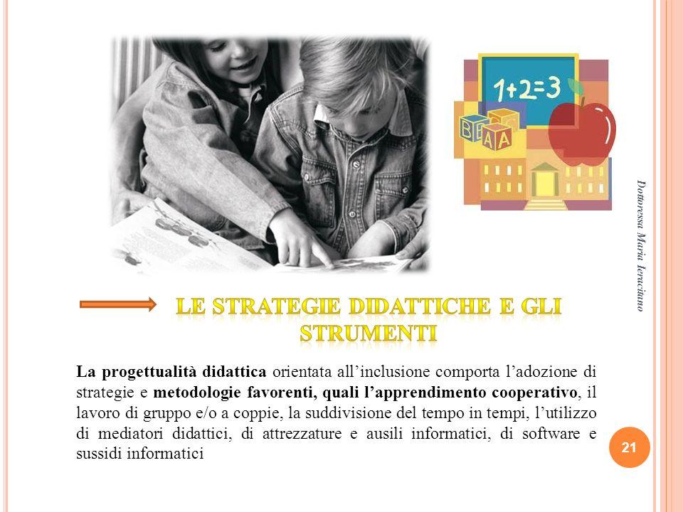 Le strategie didattiche e gli strumenti