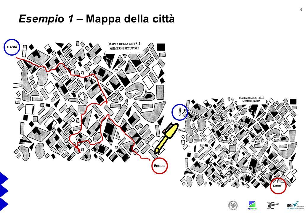 Esempio 1 – Mappa della città