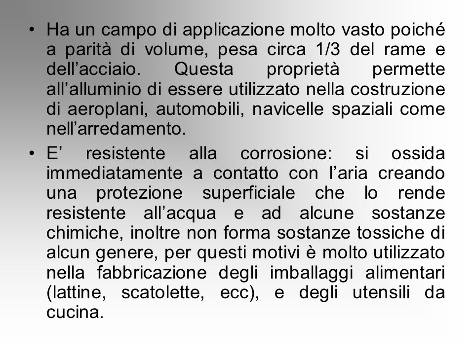 Il ferro il rame e l'alluminio Ada Cantivalli e Sciotto Rachele - ppt scaricare