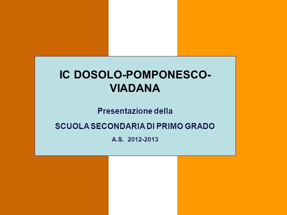 IC DOSOLO-POMPONESCO-VIADANA SCUOLA SECONDARIA DI PRIMO GRADO