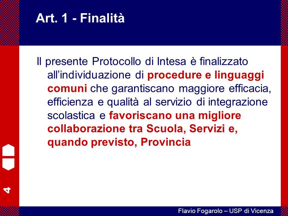Art. 1 - Finalità