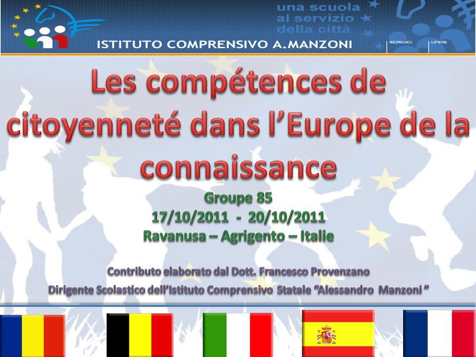 Les compétences de citoyenneté dans l'Europe de la connaissance