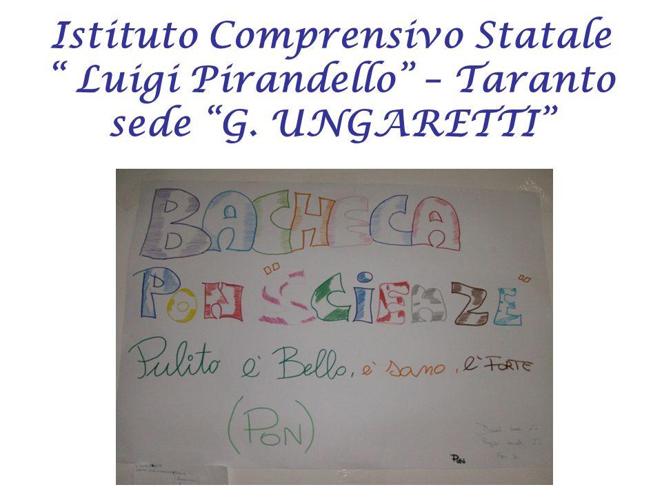 Istituto Comprensivo Statale Luigi Pirandello – Taranto sede G