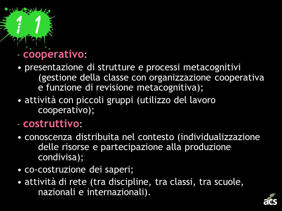 – cooperativo: