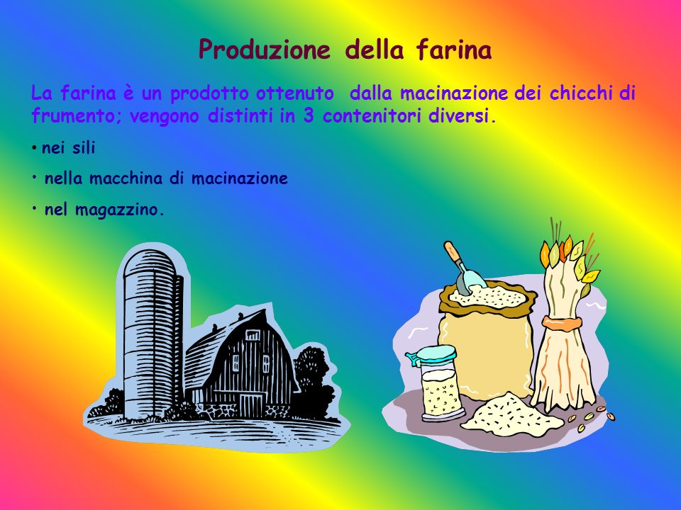 Produzione della farina