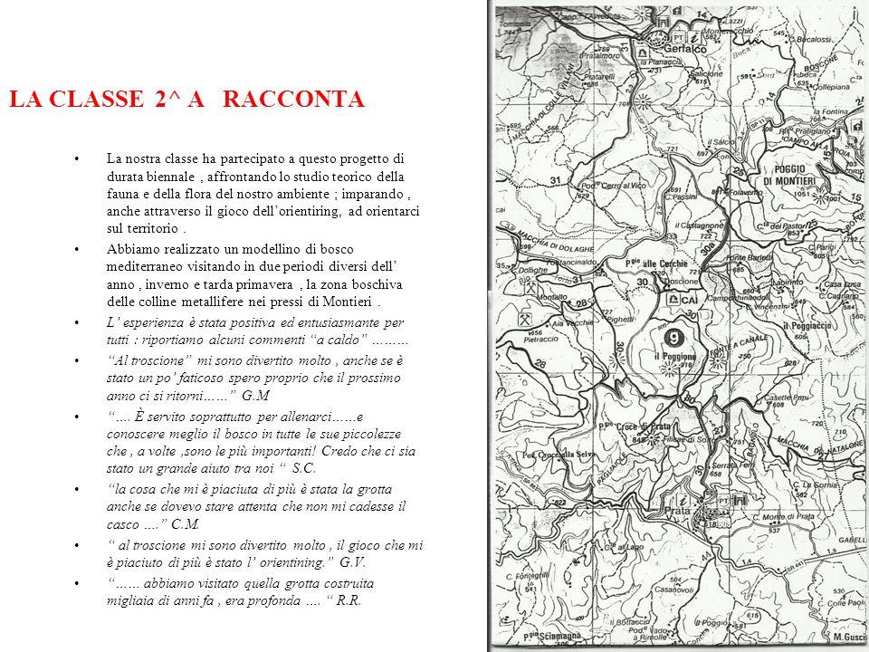 LA CLASSE 2^ A RACCONTA