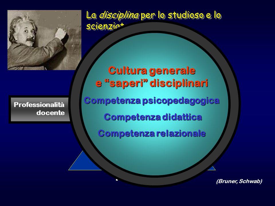 Cultura generale e saperi disciplinari