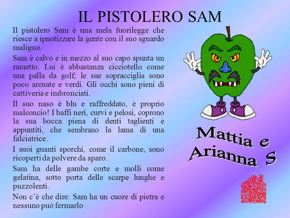 IL PISTOLERO SAM Mattia e Arianna S