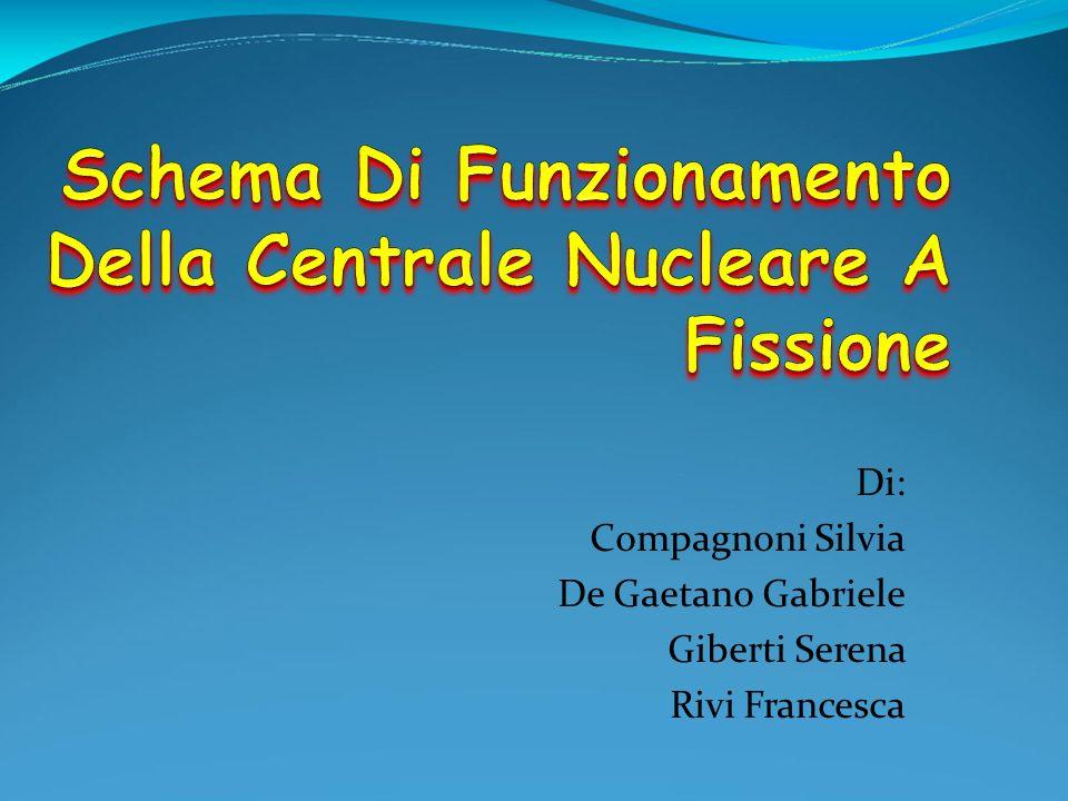 Schema Di Funzionamento Della Centrale Nucleare A Fissione