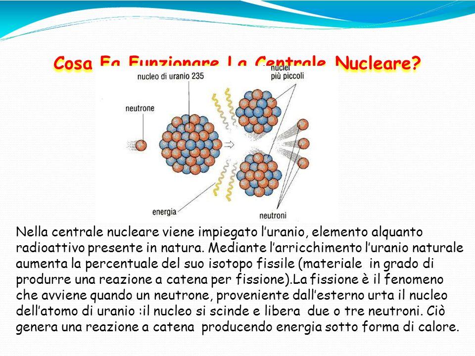 Cosa Fa Funzionare La Centrale Nucleare