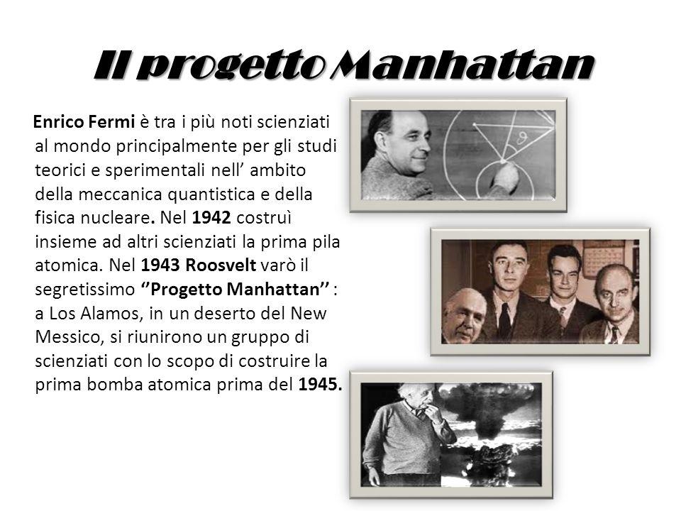 Il progetto Manhattan