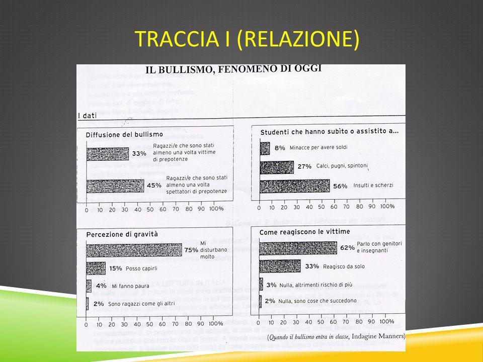 Traccia I (Relazione)