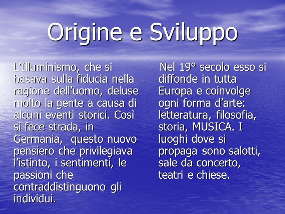 Origine e Sviluppo
