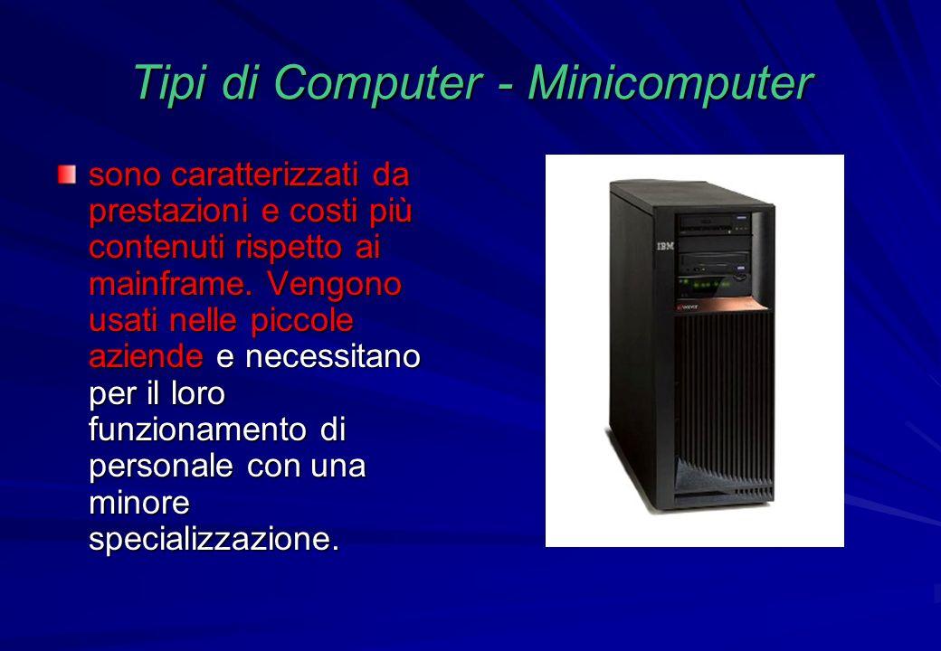 Tipi di Computer - Minicomputer