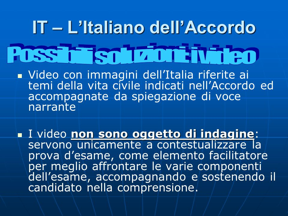IT – L'Italiano dell'Accordo