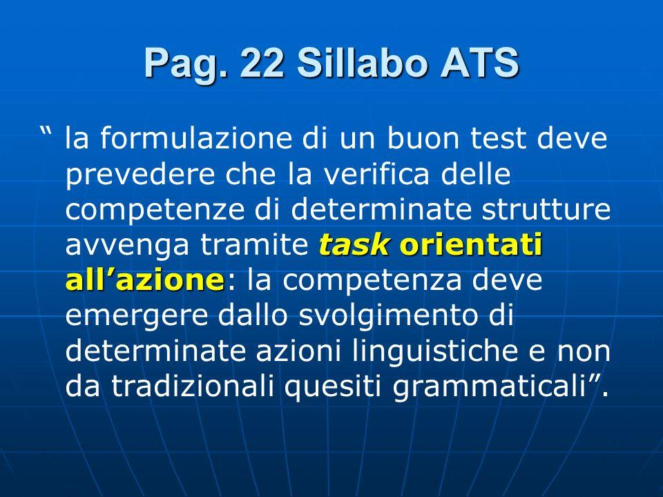 Pag. 22 Sillabo ATS