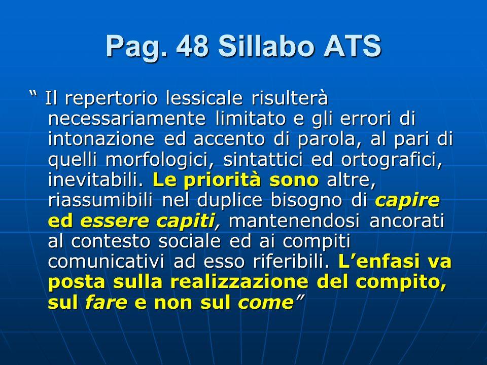 Pag. 48 Sillabo ATS