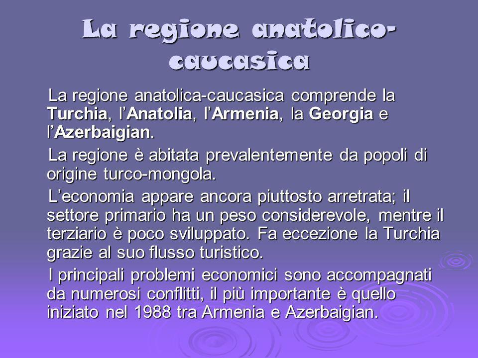 La regione anatolico-caucasica