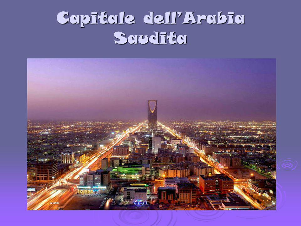Capitale dell'Arabia Saudita