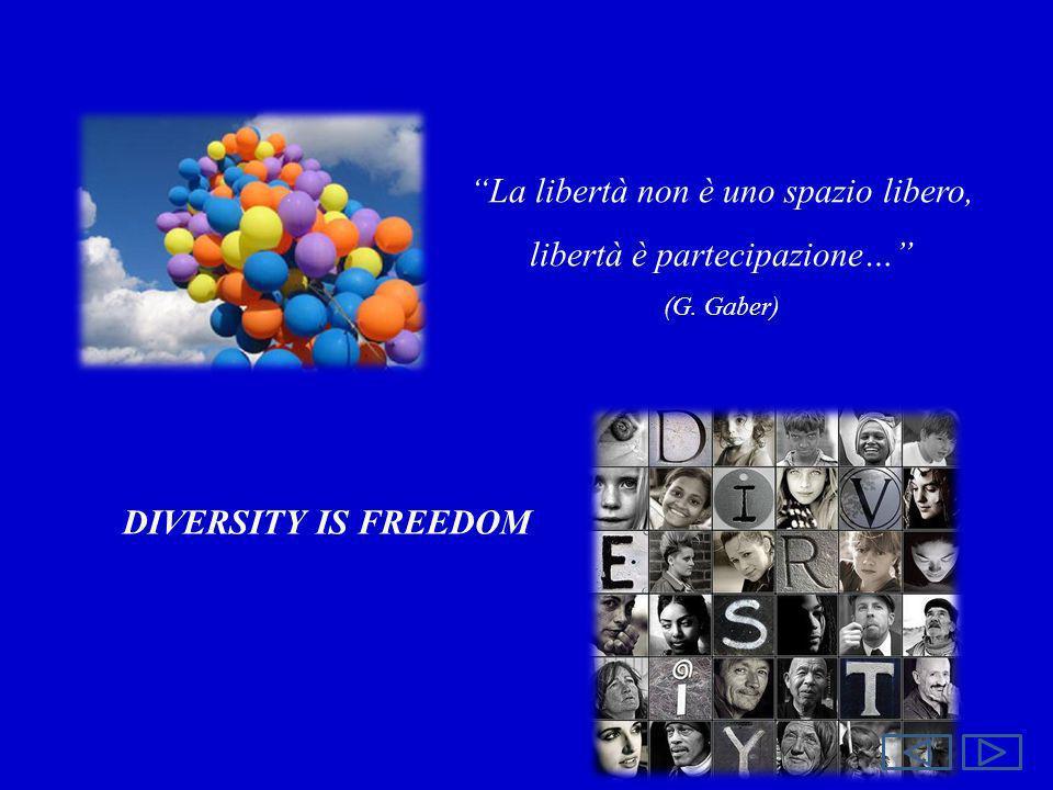La libertà non è uno spazio libero, libertà è partecipazione…