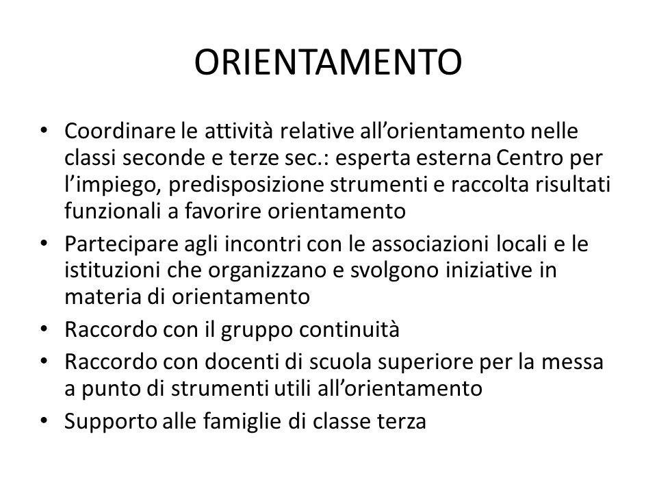 AREE FUNZIONI STRUMENTALI - I.C. LA MORRA