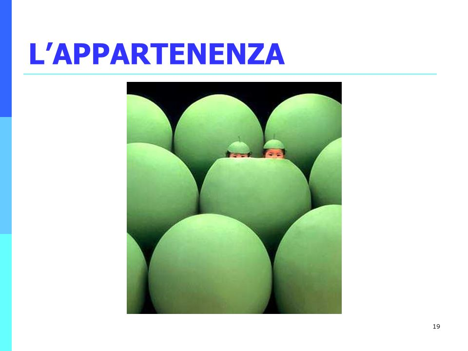 L'APPARTENENZA