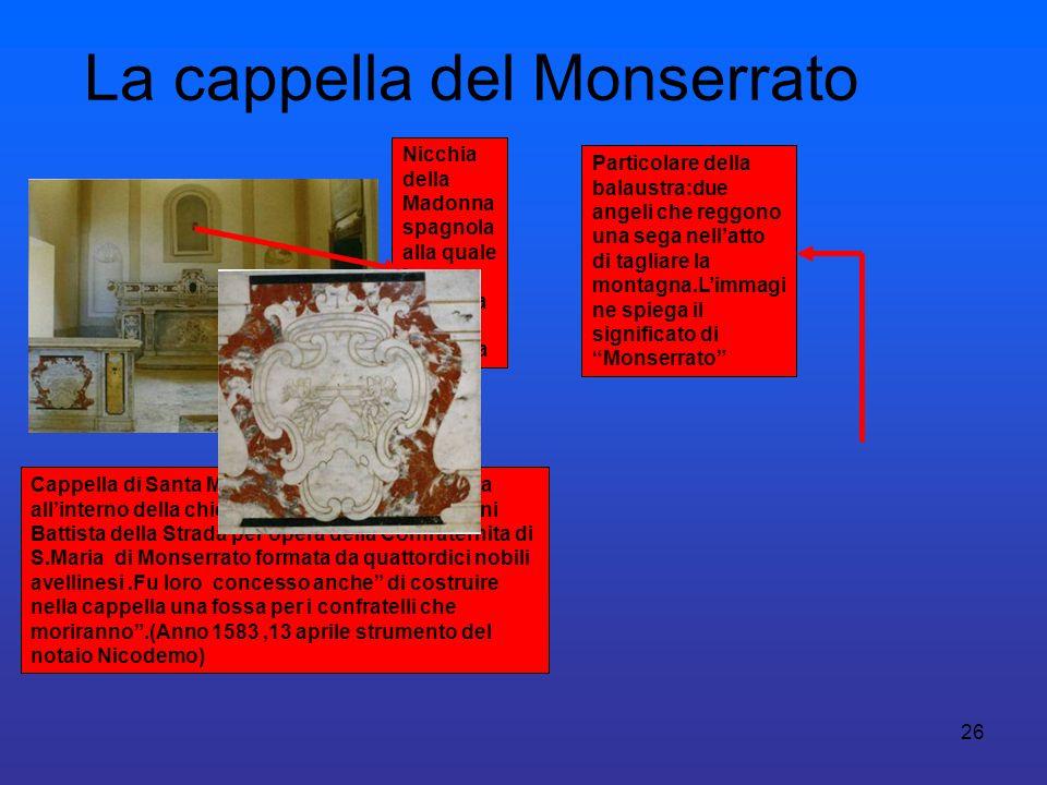 La cappella del Monserrato