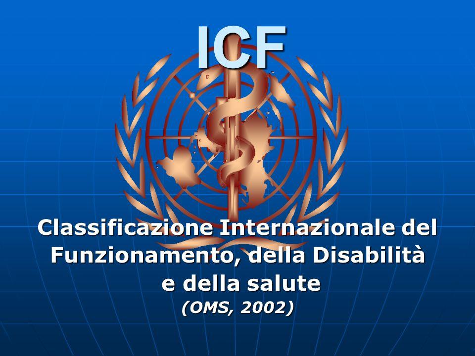 Classificazione Internazionale del Funzionamento, della Disabilità