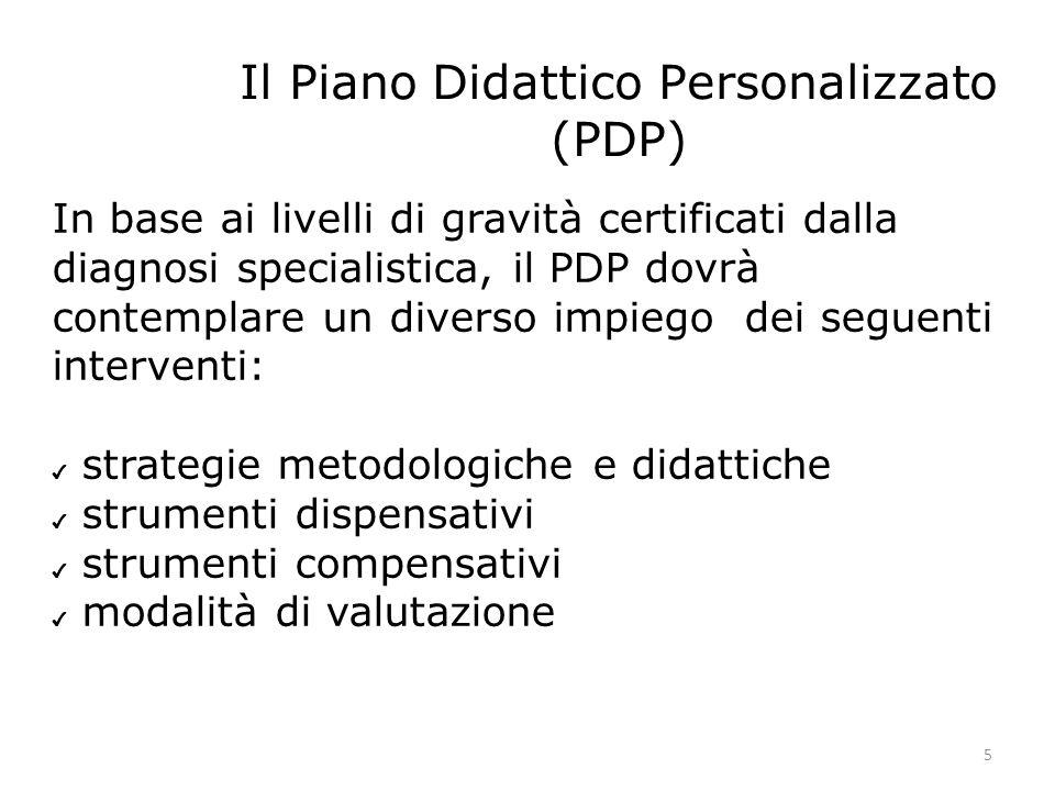 Il Piano Didattico Personalizzato (PDP)