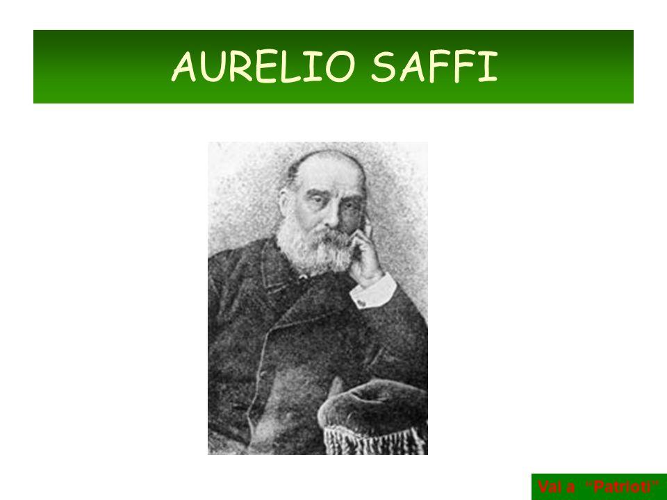 AURELIO SAFFI Vai a Patrioti