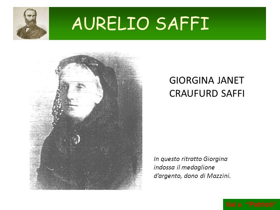 AURELIO SAFFI GIORGINA JANET CRAUFURD SAFFI