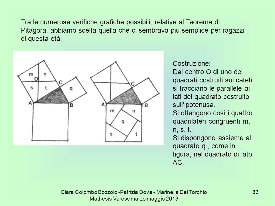 Si ottengono così i quattro quadrilateri congruenti m, n, s, t.