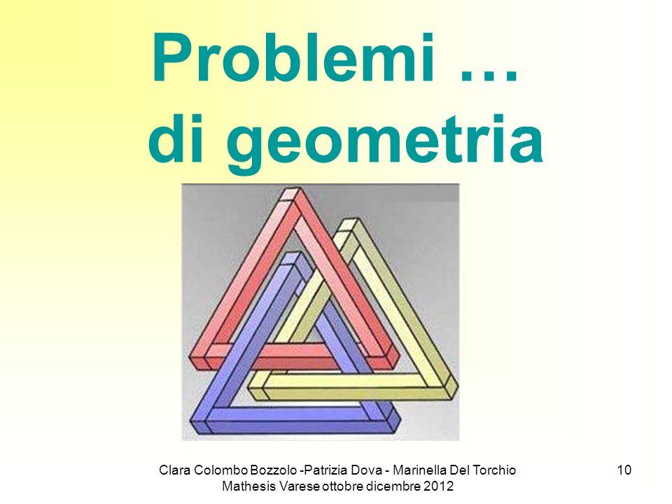 Problemi … di geometria