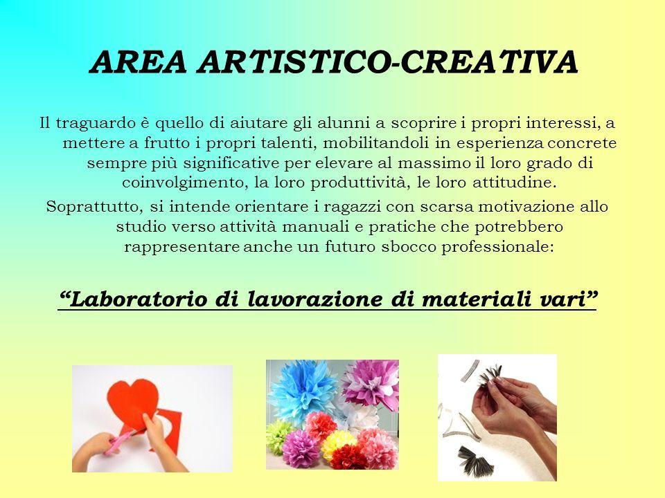 AREA ARTISTICO-CREATIVA