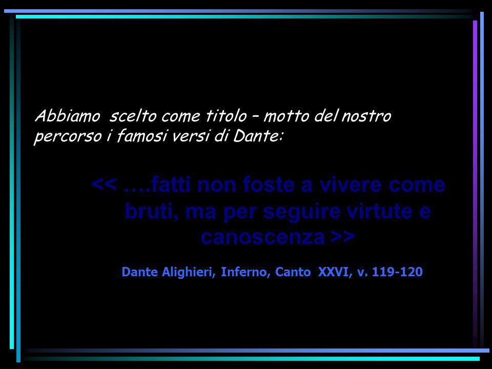 Dante Alighieri, Inferno, Canto XXVI, v. 119-120