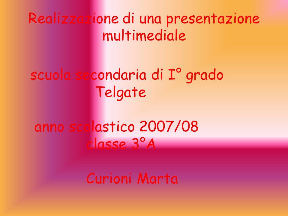 Realizzazione di una presentazione multimediale