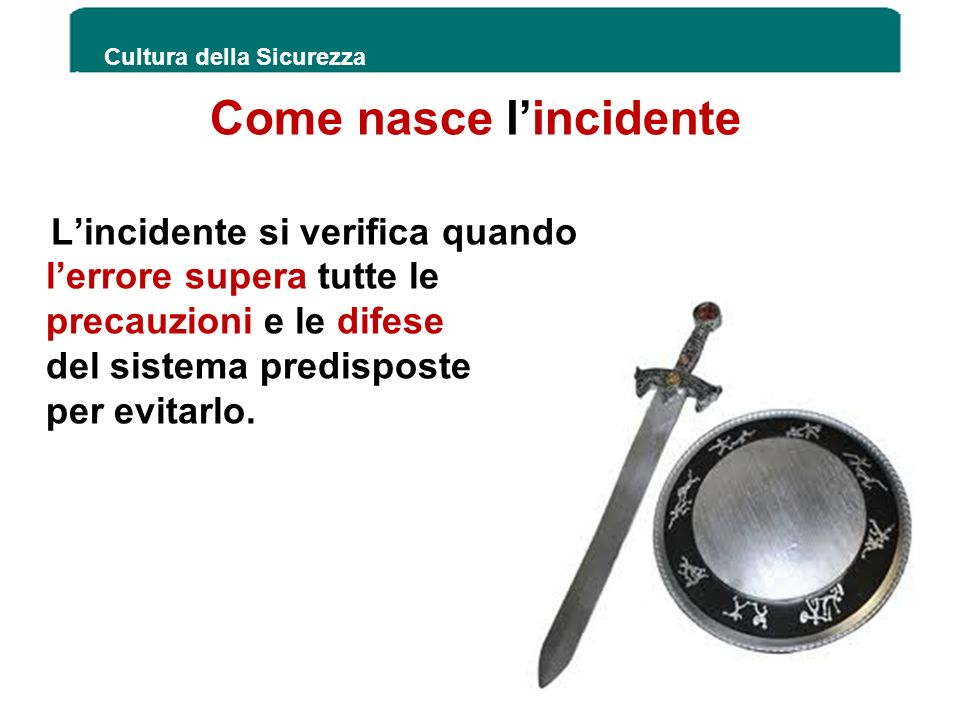 Come nasce l'incidente