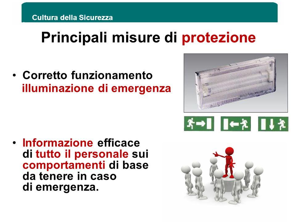 Principali misure di protezione